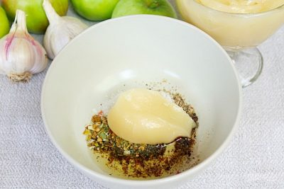 Простой кисло-сладкий соус для утки
