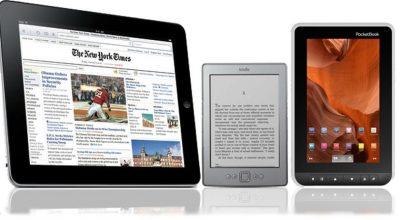 Електронна книга або планшет