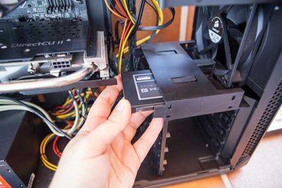 Подключение SSD к компьютеру