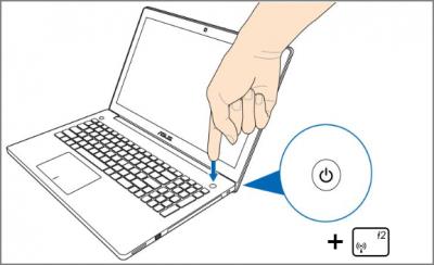 Перший спосіб входу в Біос на Windows 10