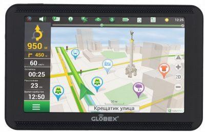 Навигатор Globex GE 520
