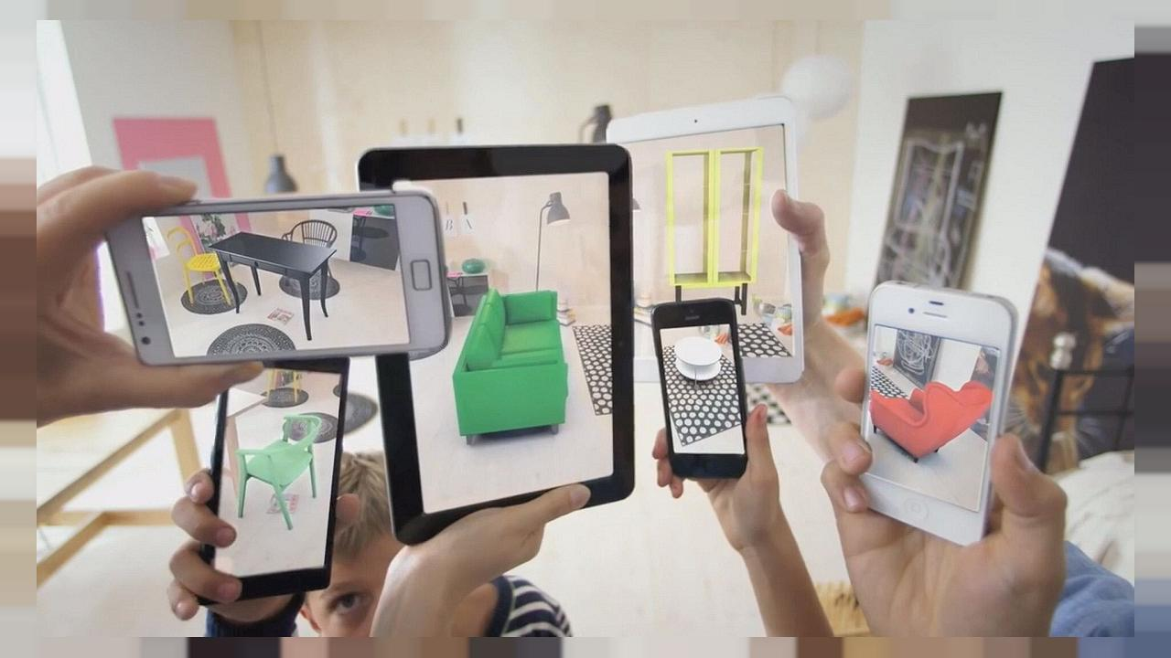 Что такое дополненная реальность и чем она отличается от виртуальной реальности - дополненная реальность на смартфоне
