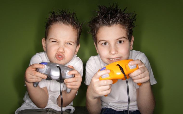 Детки-геймеры