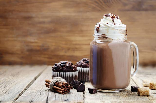 Горячий шоколад-по-венски