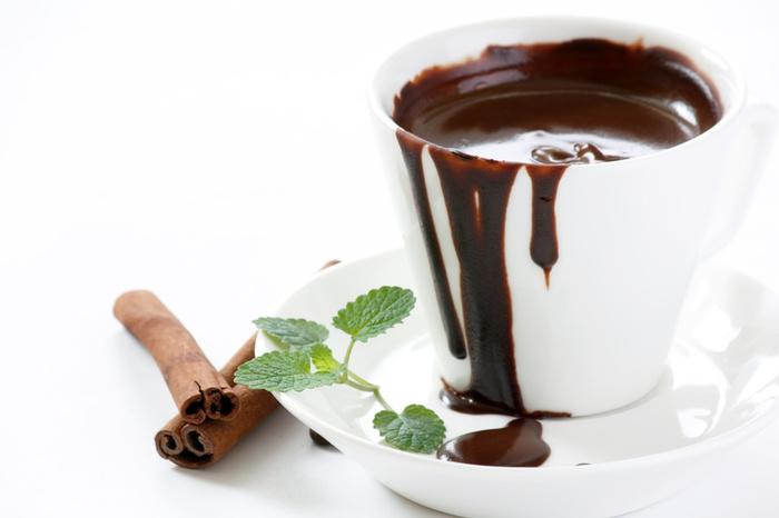 Горячий шоколад-в чашке