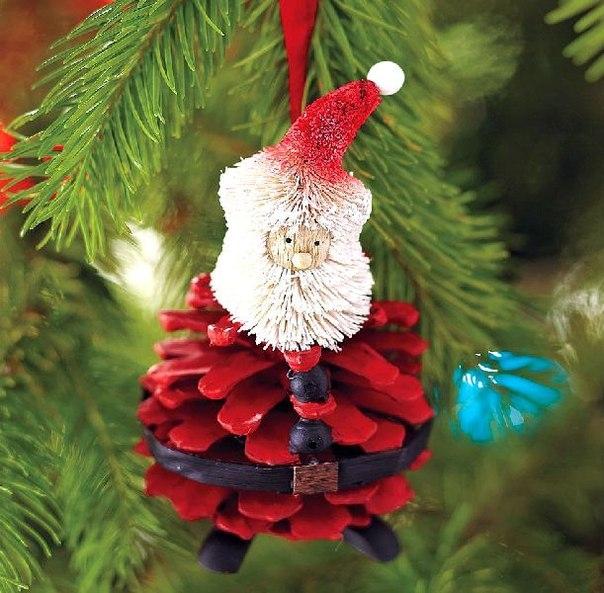 Handmade Christmas decorations-cамодельные игрушки для новогодней елки