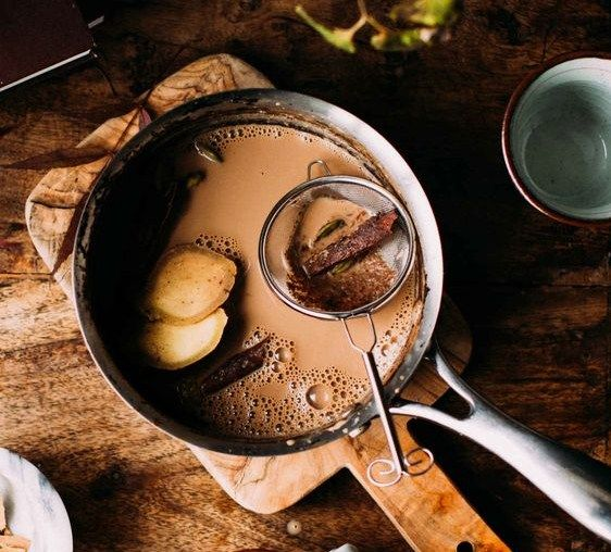 Индийский чай масала-вкусная зима
