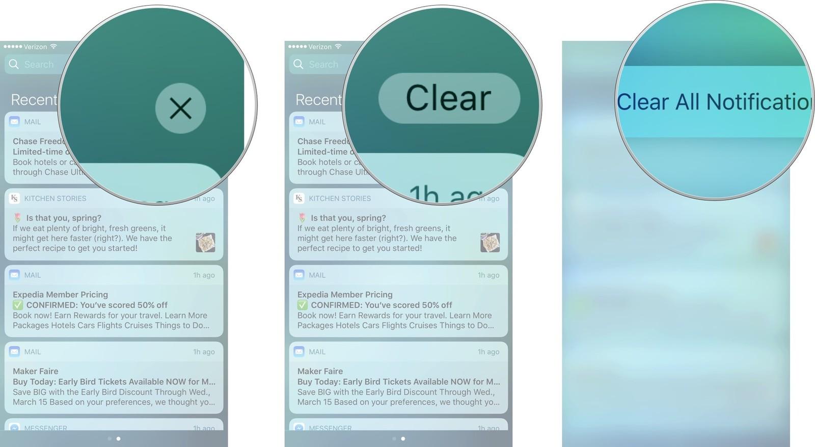 Как использовать Центр уведомлений на iPhone и iPad - как удалить сообщение