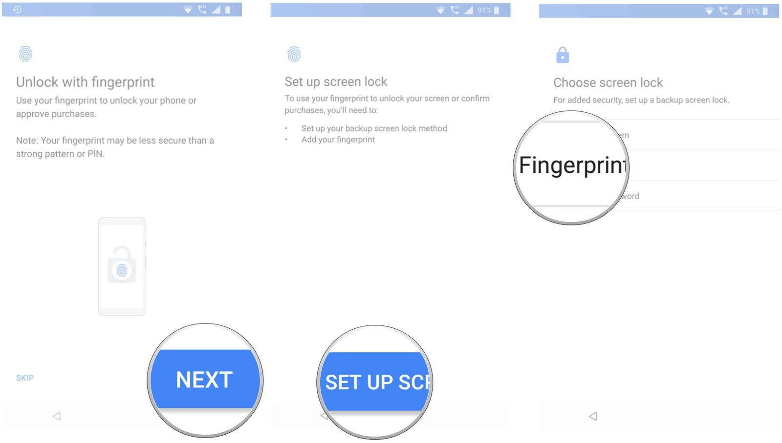 Как перенести ваши приложения и настройки на новый Android-смартфон - настраиваем блокировку