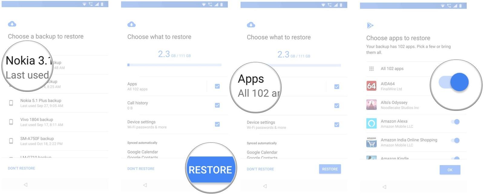 Как перенести ваши приложения и настройки на новый Android-смартфон - выбираем нужные приложения