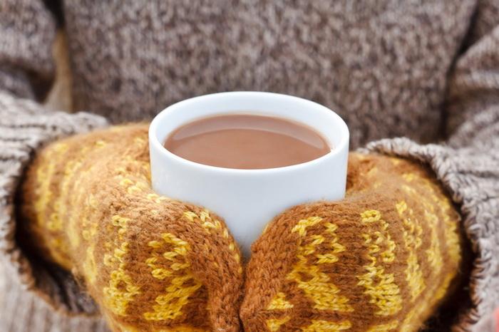 Как согреться холодной зимой-вкусные напитки
