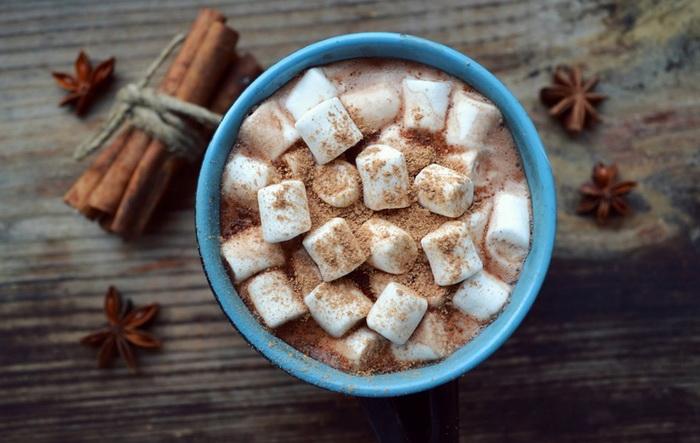 Какао с маршмеллоу-вкусная зима