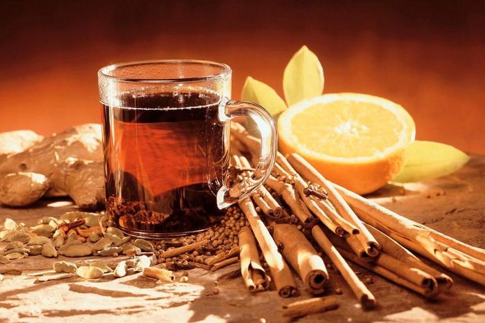 Лаврово-пряный чай-вкусная чашка
