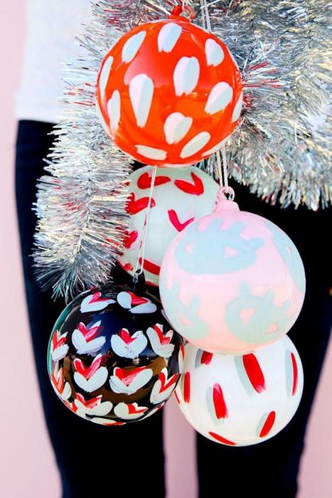 Новогодний шар-декор