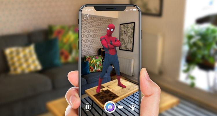 Обзор iOS 12_какая она сейчас и что ожидать в дальнейшем - человек паук в комнате