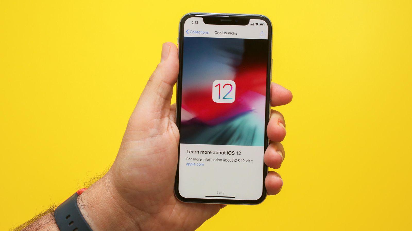 Обзор iOS 12_какая она сейчас и что ожидать в дальнейшем - число 12 на экране