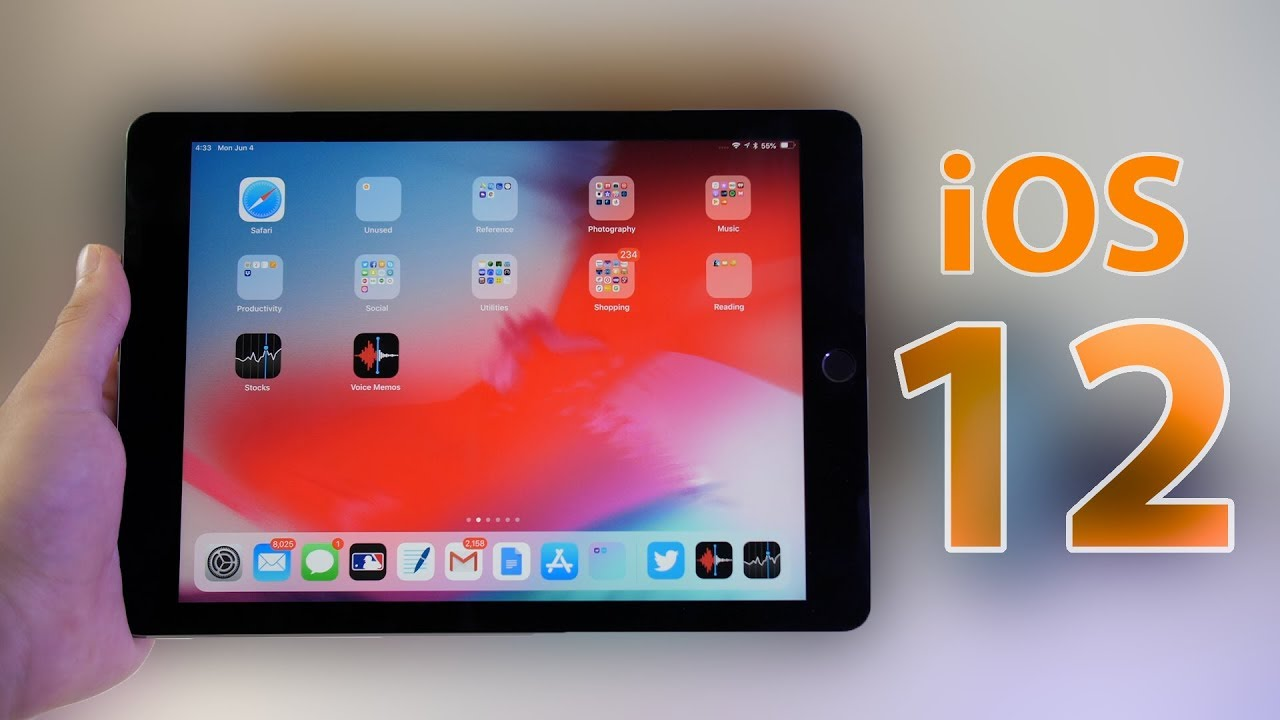 Обзор iOS 12_какая она сейчас и что ожидать в дальнейшем - ios 12 на ipad