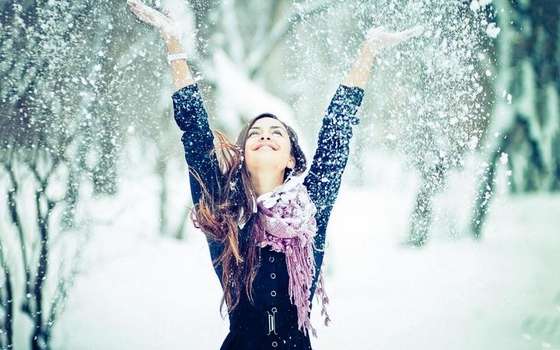 Снегопад-декабрь