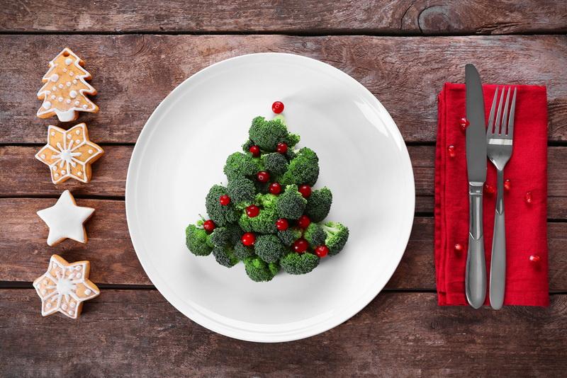 Вкусная елка-здоровый образ жизни