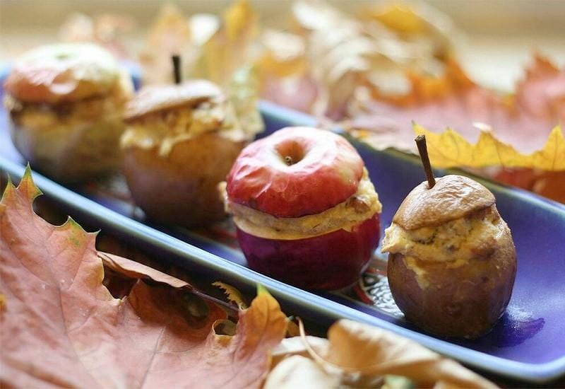 Яблоки с мясом-рецепт