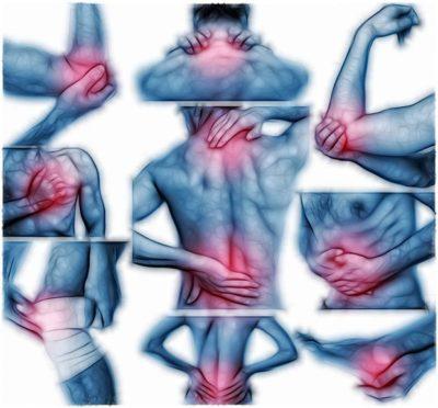 Види м'язового болю