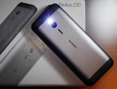 Кнопковий телефон Nokia 230 Dual SIM Dark Silver