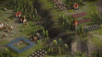 Развитие армии в игре Казаки