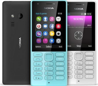 Кнопковий телефон Nokia 216 DS Black