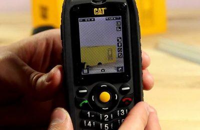 Кнопочный телефон Caterpillar CAT B25