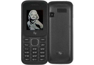 Кнопковий телефон Fly TS113 Black