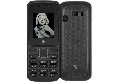 Кнопочный телефон Fly TS113 Black