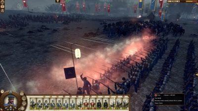 Боевые баталии в игре Total War: Shogun 2