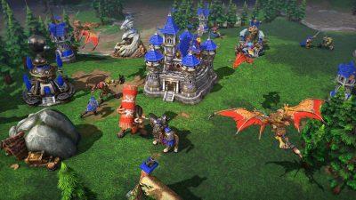 Мир стратегии Warcraft 3