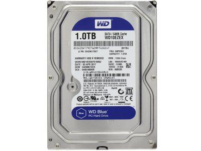 HDD WD Blue 1 TB 7200 rpm 64 MB WD10EZEX