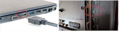Разъемы HDMI