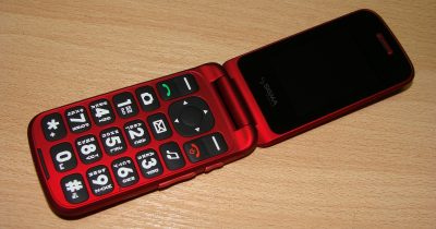 Кнопочный телефон Sigma Comfort 50 Shell