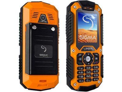Кнопковий телефон Sigma Х-treme IT67Dual Sim Khaki