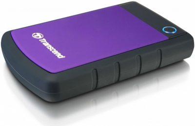 Жорсткий зовнішній диск Transcend 1TB TS1TSJ25H3B Storejet 2.5 '