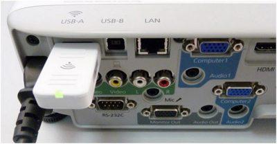Модуль для підключення проектора до ноутбука через Wi-Fi