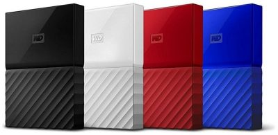 Western Digital My Passport 1 TB Blue (WDBYNN0010BBL)