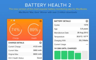 Если же у вас ноутбук под управлением iOS, можно использовать бесплатную утилиту Battery Health.