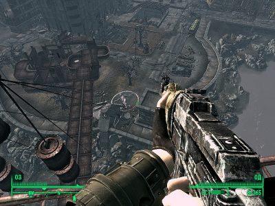 Игра Fallout 3 реализация боя