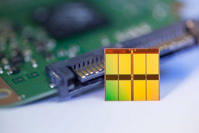 Вид флеш-памяти SSD 3D NAND