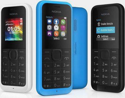 Кнопочный телефон Nokia 105 New Dual Sim Black