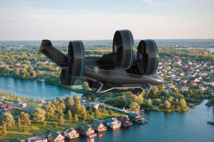 Bell Helicopter-прототип аэротакси Nexus