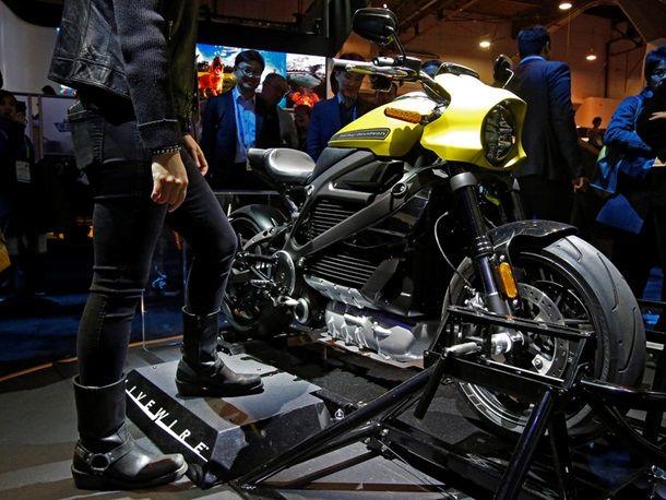 Электронный Harley Davidson-новинки