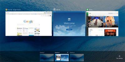 Быстрые клавиши Windows для создания виртуальных рабочих столов