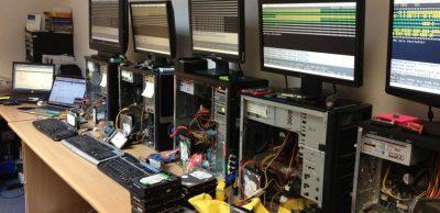 Відновлення видалених тек в лабораторії