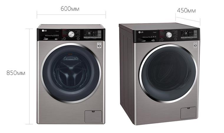 Габариты стиральной машинки