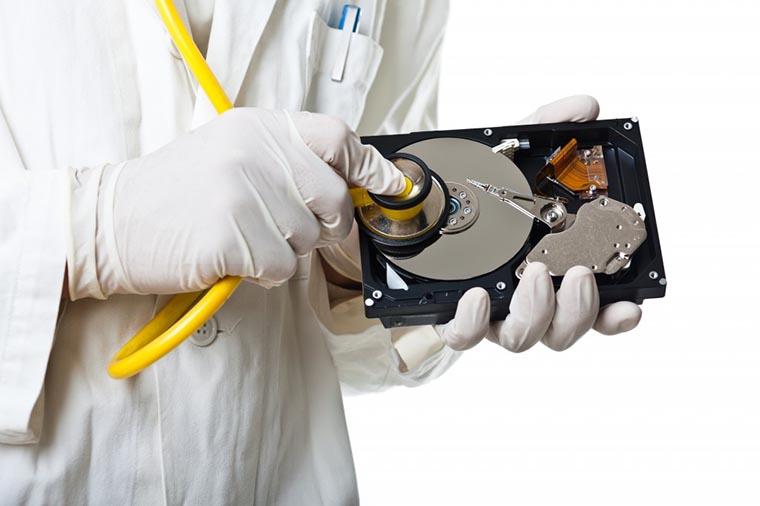 Лечим форматированный диск